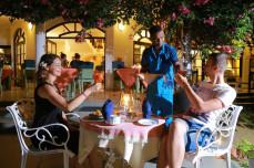 Austrian Beach Hotel Abendstimmung